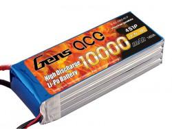 Gens ace 10000mAh 14.8V 10C 4S1P Lipo Battery Pack - RcHobby24