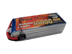 Gens ace 10000mAh 18.5V 25/50C 5S1P Lipo Battery Pack - RcHobby24
