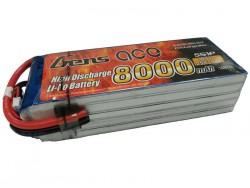 Gens ace 8000mAh 18.5V 25/50C 5S1P Lipo Battery Pack - DJI, Align Trex, GAUI - RcHobby24