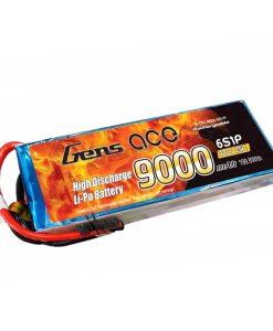 Gens ace 9000mAh 22.2V 25C 6S1P Lipo Battery Pack for Cinestar - RcHobby24