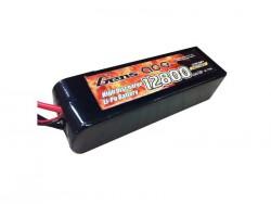 Gens ace 12800mAh 7.4V 25C 2S3P Lipo Battery with Original TRX - TRAXXAS Connector - RcHobby24