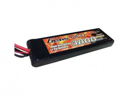 Gens ace 3800mAh 7.4V 25C 2S1P Lipo with Original TRX Connector - RcHobby24