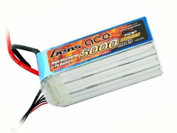 Gens ace 5000mAh 25.9V 40C 7S1P Lipo Battery Pack - RcHobby24