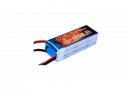 Gens ace 1250mAh 22.2V 45C 6S1P Lipo Battery Pack - Align 450 - RcHobby24