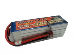 Gens ace 3800mAh 22.2V 45C 6S1P Lipo Battery Pack - RcHobby24