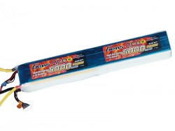 Gens ace 5000mAh 44.4V 45/90C 12S1P Lipo Battery Pack - Helicopter - RcHobby24