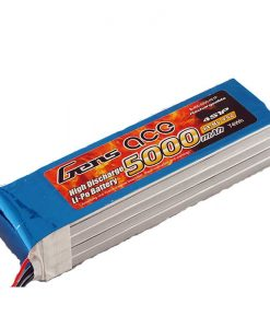 Gens ace 5000mAh 14.8V 45C 4S1P lipo battery - RcHobby24