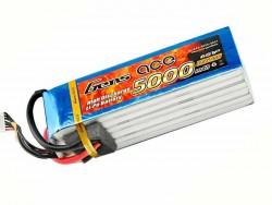 Gens ace 5000mAh 22.2V 45/90C 6S1P Lipo Battery Pack - Align Trex, GAUI - RcHobby24