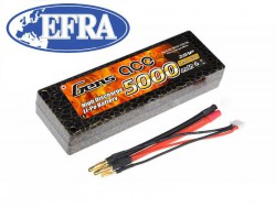Gens ace 5000mAh 7.4V 50C 2S1P HardCase LiPo Battery 10# EFRA Approved - RC Car - RcHobby24