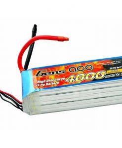 Gens ace 4000mAh 18.5V 60C 5S1P Lipo Battery Pack - RcHobby24
