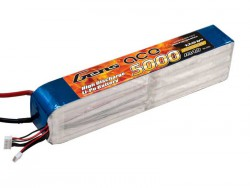Gens ace 5000mAh 60/120C 44.4V 12S1P Lipo Battery pack - RcHobby24
