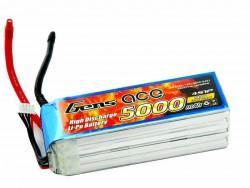 Gens ace 5000mAh 14.8V 60C 4S1P Lipo Battery Pack - RcHobby24