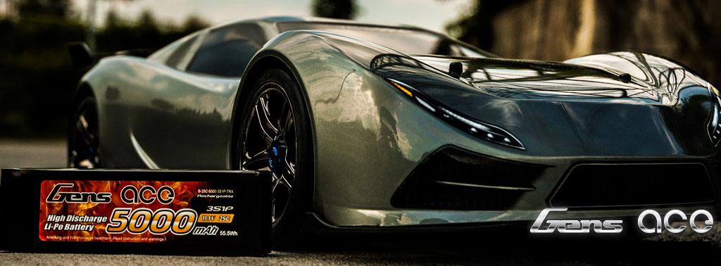 Gens ace Lipo Sport Car - RcHobby24