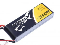 TATTU 10000MAH 11.1V 15C 3S1P Lipo Battery Pack - UAV Multirotor - RcHobby24