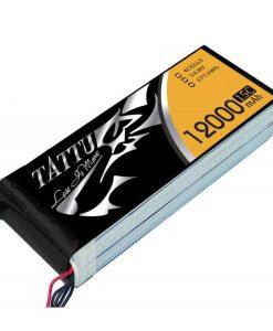TATTU 12000mAh 14.8V 15/30C 4S1P Lipo Battery Pack - UAV Multirotor - RcHobby24