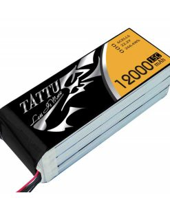 TATTU 12000mAh 22.2V 15/30C 6S1P Lipo Battery Pack - UAV Multirotor - RcHobby24