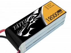 TATTU 12000mAh 22.2V 15/30C 6S1P Lipo Battery Pack - UAV Multirotor - RcHobby24