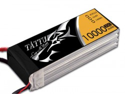 TATTU 10000mAh 14.8V 25/50C 4S1P Lipo Battery Pack - UAV Multirotor - RcHobby24