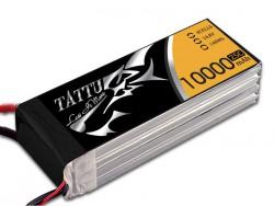 TATTU 10000mAh 14.8V 25/50C 4S1P Lipo Battery Pack - UAV Multirotor - RcHobby24
