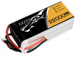 TATTU 22000mAh 22.2V 25/50C 6S1P Lipo Battery Pack - UAV Multirotor - RcHobby24