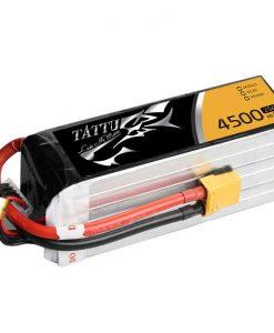 TATTU 4500mAh 22.2V 25/50C 6S1P Lipo Battery Pack - Helicopter - UAV Multirotor - RcHobby24