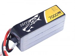 TATTU 7000mAh 22.2V 25C 6S1P Lipo Battery Pack - UAV Multirotor - RcHobby24