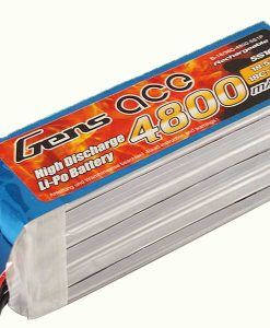 Gens ace 4800mAh 18.5V 18/36C 5S1P Lipo Battery Pack - Airplane F3A Competition - RcHobby24