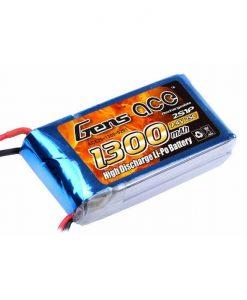 Gens ace 1300mAh 7.4V 25C 2S1P Lipo Battery Pack - RcHobby24