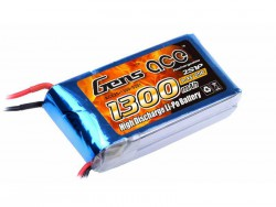 Gens ace 1300mAh 7.4V 25C 2S1P Lipo Battery Pack - RcHobby24