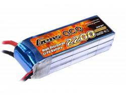 Gens ace 2200mAh 11.1V 25C 3S1P Lipo Battery Pack - RcHobby24