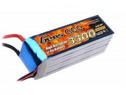 Gens ace 3300mAh 22.2V 25C 6S1P Lipo Battery Pack - Align Trex, GAUI - RcHobby24