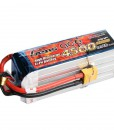 Gens ace 4500mAh 22.2V 25C 6S1P XT90 Lipo Battery Pack - Align Trex, GAUI - RcHobby24