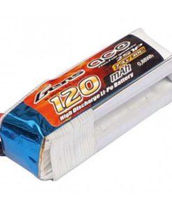 Gens ace 120mAh 7.4V 30C 2S1P Lipo Battery Pack - F3P Pack, Nano CPX - RcHobby24
