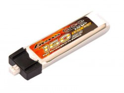 Gens ace 160mAh 3.7V 30C 1S1P Lipo Battery Pack - MJX R/C, Blade - RcHobby24