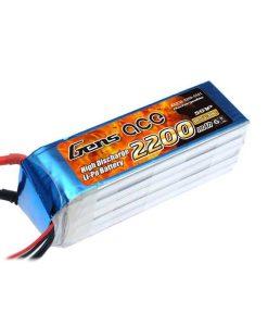 Gens ace 2200mAh 18.5V 30C 5S1P Lipo Battery Pack - F5D - RcHobby24