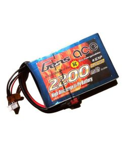 Gens ace 2200mAh 14.8V 35C 4S1P Flat Pack - Multirotors - RcHobby24