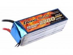 Gens ace 2700mAh 14.8V 35C 4S1P Lipo Battery Pack - EDF Jet, Align Trex, Goblin, GAUI - RcHobby24