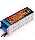 Gens ace 6000mAh 18.5V 35C 5S1P Lipo Battery Pack - Multirotor, Align Trex, GAUI - RcHobby24