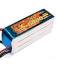 Gens ace 6000mAh 22.2V 35C 6S1P Lipo Battery Pack - Multirotor, UAV, Align Trex, GAUI - RcHobby24