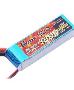 Gens ace 1800mAh 7.4V 40C 2S1P Lipo Battery Pack - RcHobby24