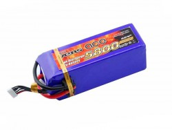 Gens ace 5800mAh 22.2V 45C 6S1P Lipo Battery Pack - Helicopter - RcHobby24