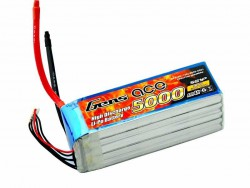 Gens ace 5000mAh 18.5V 60/120C 5S1P Lipo Battery Pack - Helicopter, Airplane - RcHobby24