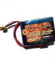 Gens ace 3500mAh 7.4V RX 2S1P Lipo Battery Pack - Futaba - RcHobby24
