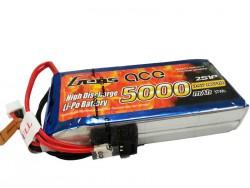 Gens ace 5000mAh 7.4V RX/TX 2S1P Lipo Battery Pack - Futaba - RcHobby24