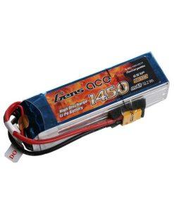 Gens ace 1250mAh 22.2V 45C 6S1P Lipo Battery Pack - XT60 - Align 450 - RcHobby24