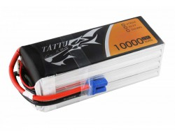 TATTU 10000mAh 22.2V 25/50C 6S1P Lipo Battery Pack - UAV Multirotor - RcHobby24