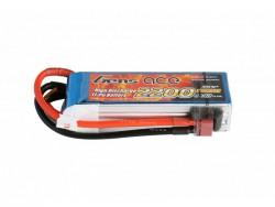 Gens ace 2200mAh 11.1V 45C 3S1P Lipo Battery Pack - DEAN-T - RcHobby24