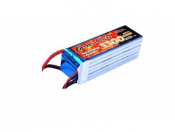 Gens ace 3300mAh 22.2V 45C 6S1P Lipo Battery Pack - DEAN-T - Align Trex, Goblin, GAUI - RcHobby24
