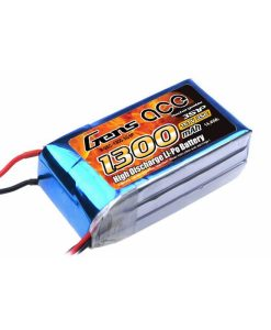 Gens ace 1300mAh 11.1V 25C 3S1P Lipo Battery Pack - 250 FPV Racing - DEAN-T - RcHobby24