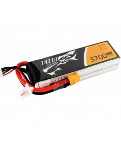 TATTU 3700mAh 14.8V 45C 4S1P Lipo Battery Pack - FPV Racing Multirotors - XT60 - Multirotors - Walkera - DJI - RcHobby24